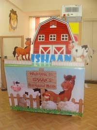 Candy Counter - Top Barnyard Theme Birthday - Party Decoration Supplies