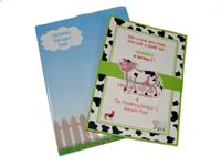 Barnyard birthday theme Custom invitations