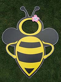 Bumble Bee birthday theme Photo Booth