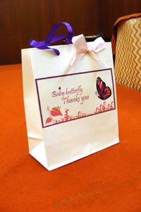 Purple Butterfly Gift bags