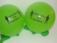 Camouflage Birthday theme Printed Balloons