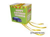 Vehicles birthday theme Pinata