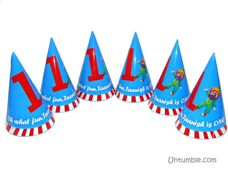 Carnival hats (Set of 6)