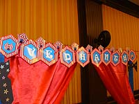 Circus Birthday theme Happy Birthday Banners