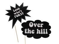 Over the hill photo prop