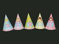 Colorful fairy hats (Set of 6)