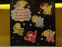 Fairy starry night backdrop (Square)