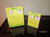 Fairy Princess Birthday theme Stickered gift bags