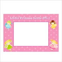 Fairy Princess Birthday theme Photo Frame