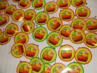 Fruits theme birthday Badge