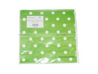 Tissue Paper - Green Polka  (Pack of 20)