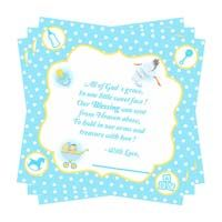 Blue boy Thank you card