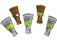 Jungle Birthday Supplies theme Wristbands
