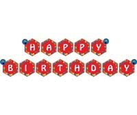 Lego theme Happy Birthday Banners