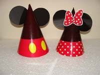 Mickey Minnie Hats (Set of 6)