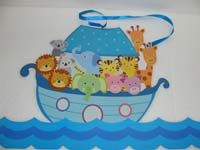 Animals on boat