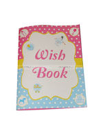 Pink & Blue Babyshower theme Wish book