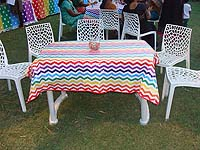 Guests table cover