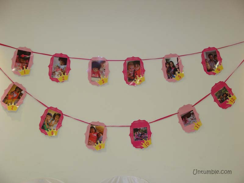 Royal Princess Birthday theme Happy Birthday Banners