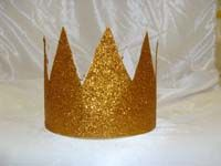 Gold Crowns (Set of 6)