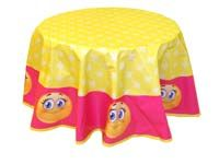 Smiley Birthday theme Table covers