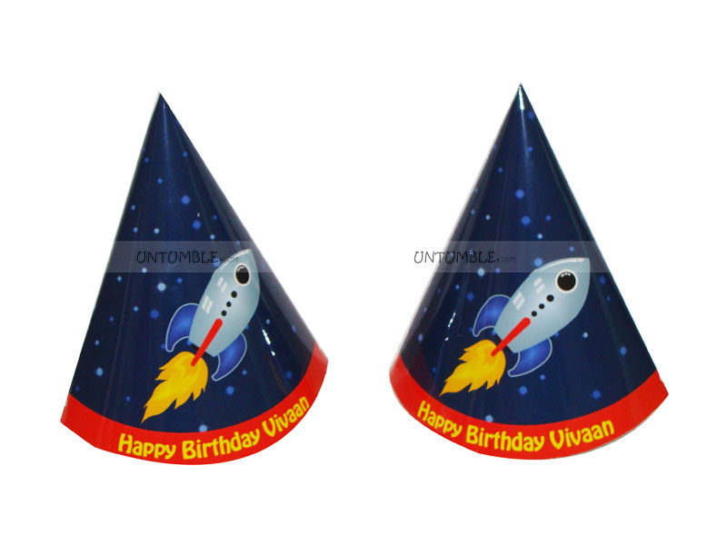 Space Party Hats (Set of 6)