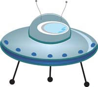 Flying Saucer cutout