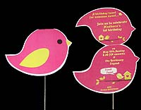 Tweety Birthday theme Custom invitations