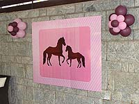 Horse and pony poster