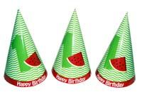Watermelon Party Hats (Set of 6)