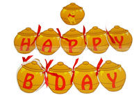 Winnie Pooh Birthday theme Happy Birthday Banners