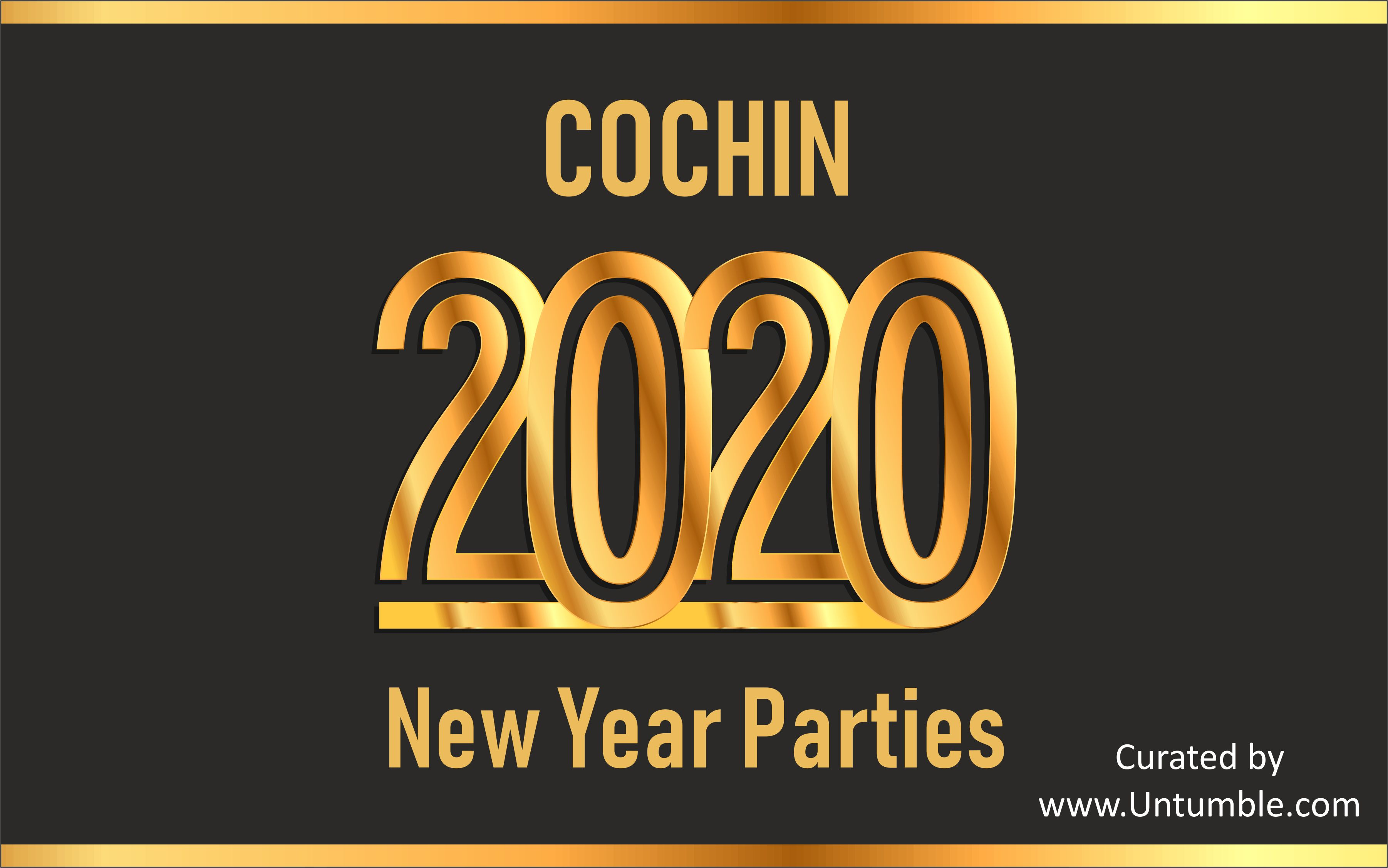 New Year 2020 Parties in Kochi