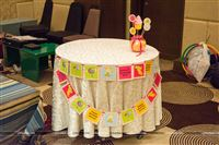 Candyland birthday banner for your cake table