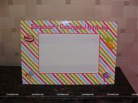 Candyland photo frames to store your memories