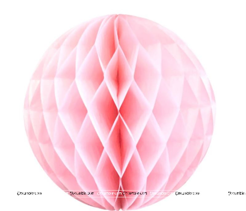 10   Inch Pink Honey Comb Paper Balls