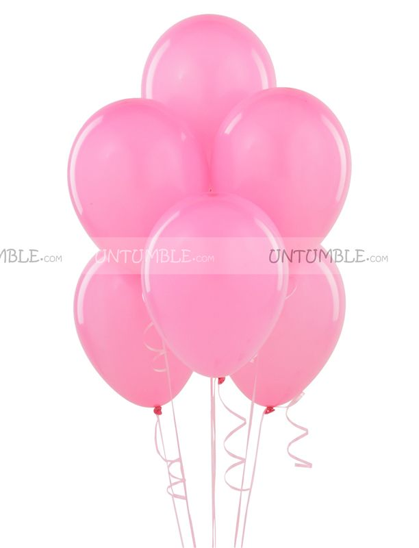 Pink Latex Balloons (Pack of 20)