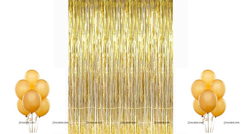 Gold Party Decoration Kit