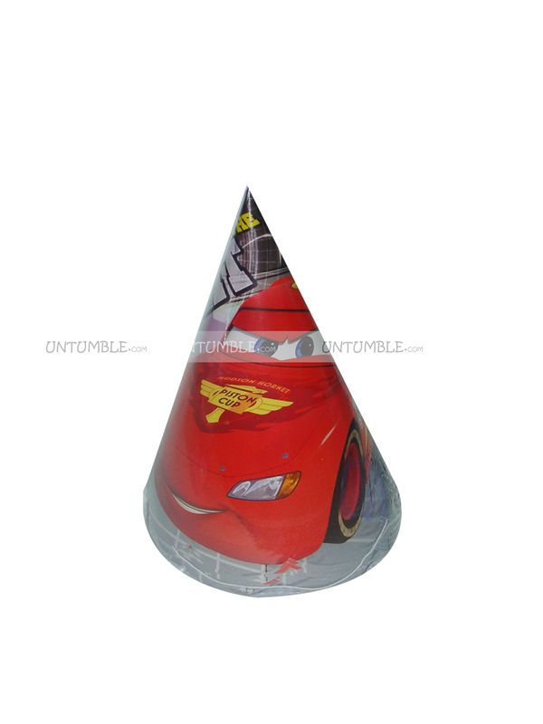 Cars Paper Cap (Set of 10)