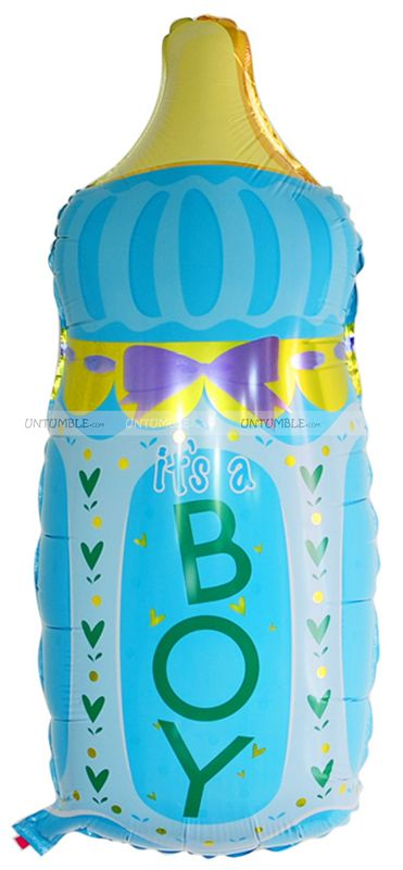 Its a Boy Feeding Bottle Foil Balloon