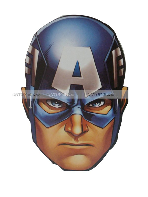 Captain America Face Mask