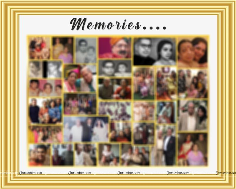 Memory Photo Collage