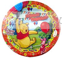 Winnie The Pooh Birthday Party Plate
