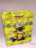 Minions Yellow Return Gift Bag