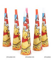 WIinnie the Pooh Party Horns (Pack of 6)