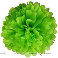 14inch Light Green Tissue Pom Pom