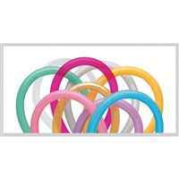 Assorted Colored Tube Balloons (Pack of 20)