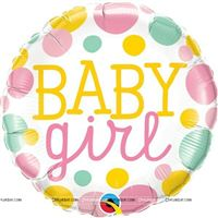 Baby Girl Foil Balloon