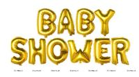 Baby shower Foil Balloons (Gold)
