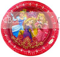 Princess Birthday Party Plate