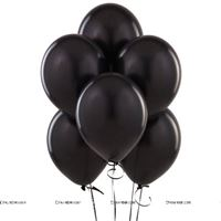 Black Latex Balloons (Pack of 20)